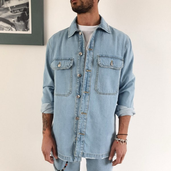GIACCA- CAMICIA  JEANS