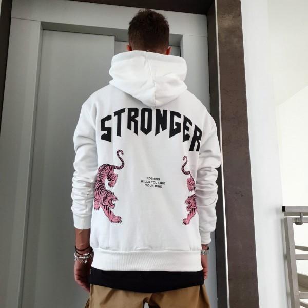 FELPA STRONGER WHITE