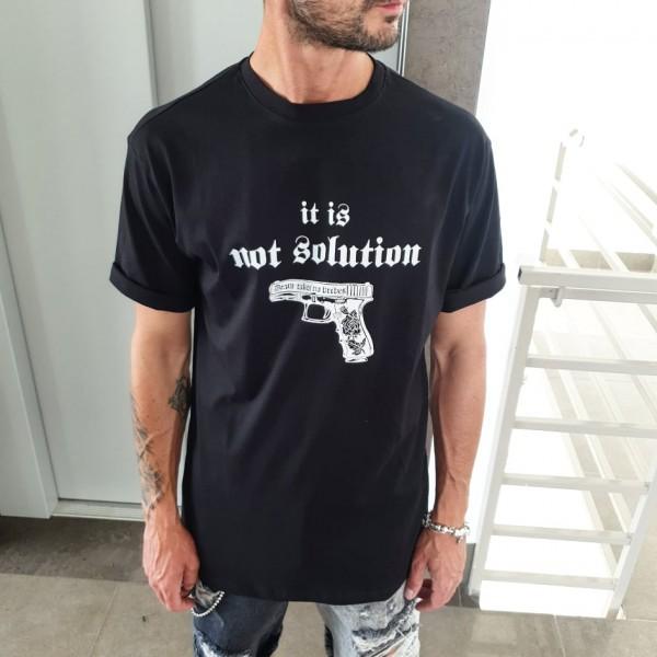 T-SHIRT GUN BLACK